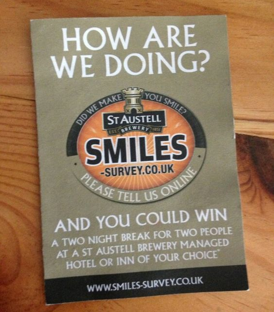 Customer Satisfaction  – St Austell Brewery