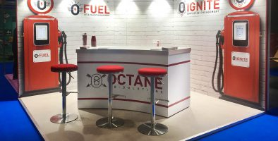 Restaurant Tec stand rocked!